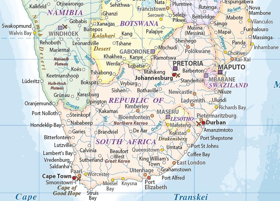 Africa Political maps