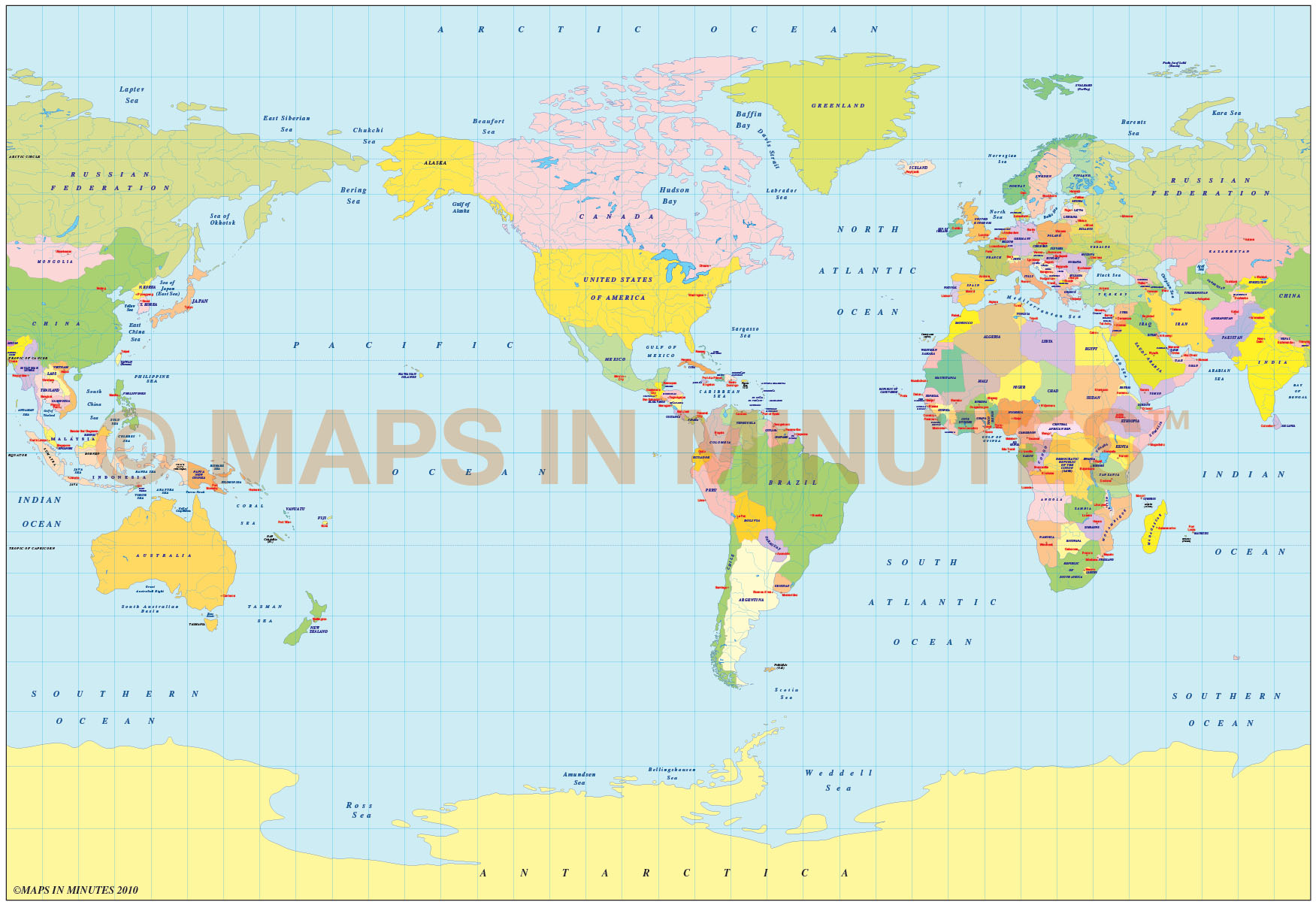 Royalty free bsam projection political world map small scale us vector world map bsam projection small scale political us centric gumiabroncs Gallery