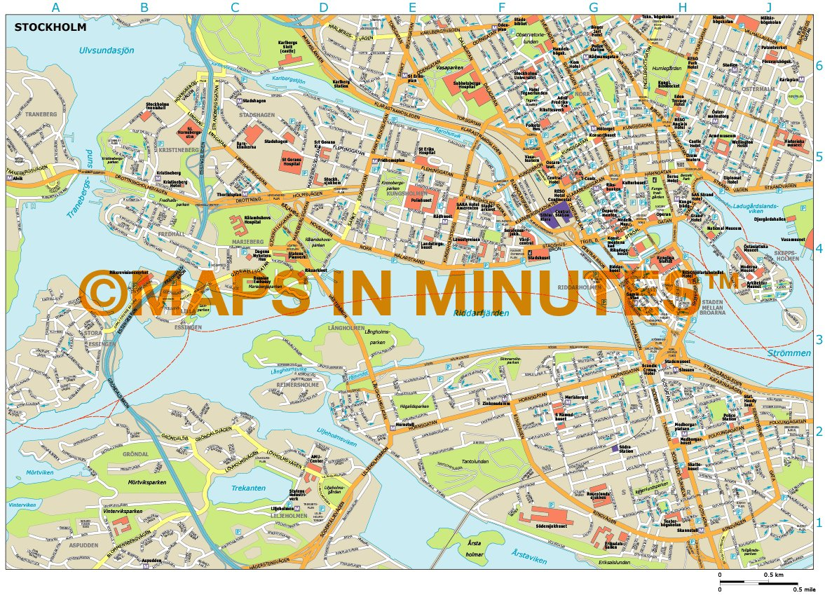 Porr Damer Stockholm City Karta