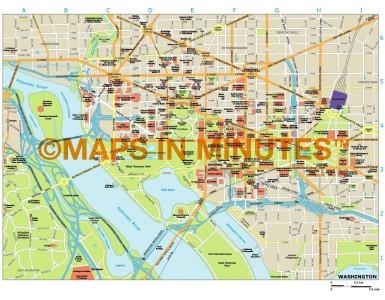 Washington city map in Illustrator CS or PDF format