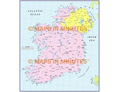 ADM Ireland Basic Map