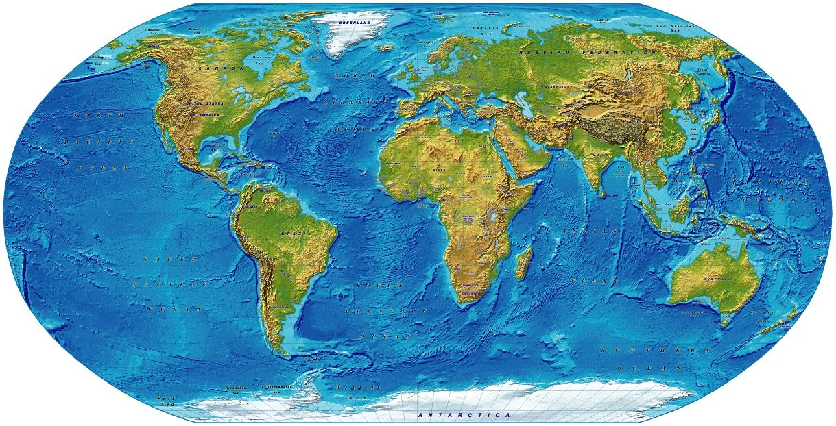 robinson projection Robinson projection¶ a global projection once used by the national geographic society for world maps.