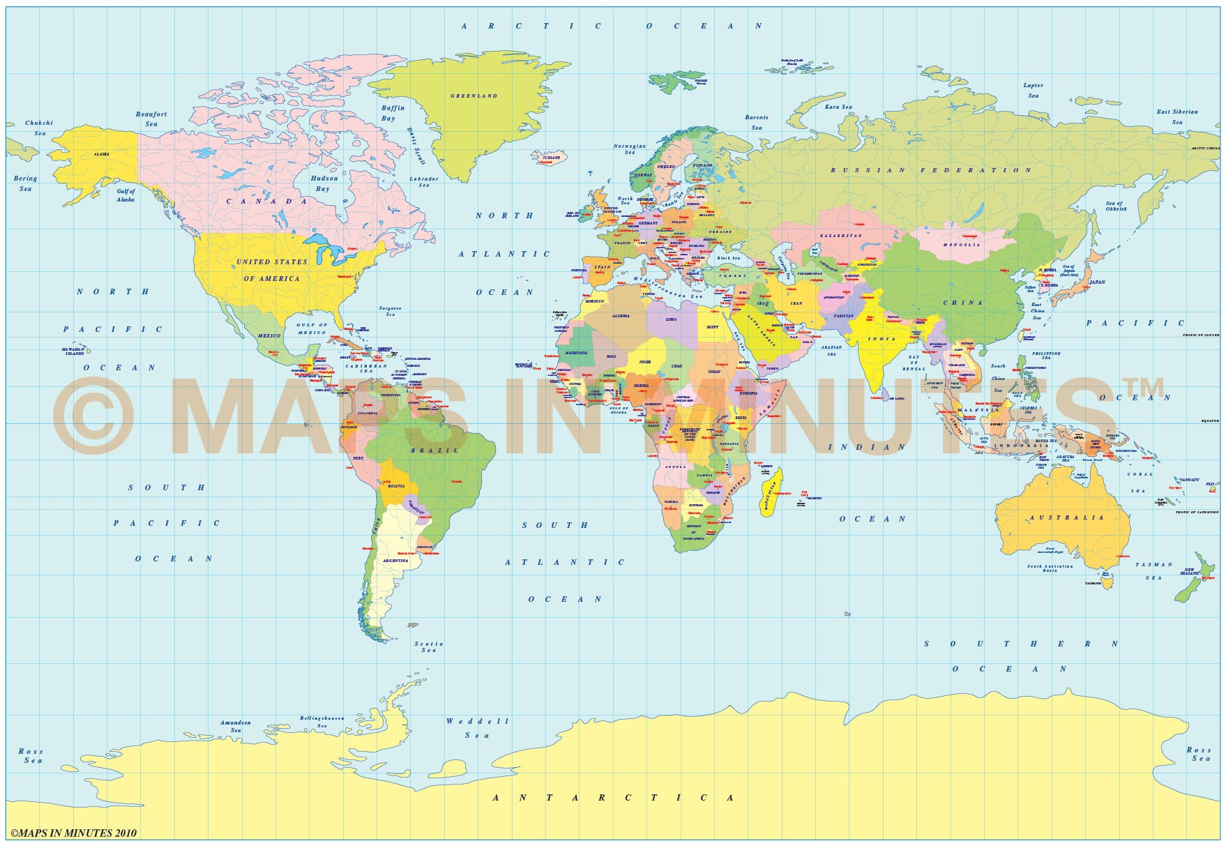 Vector world political map in the bsam projection uk centric in vector world map bsam projection small scale political uk centric gumiabroncs Image collections