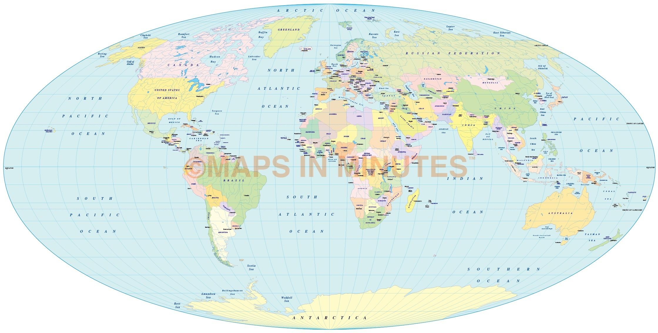 Vector political world map apianus ii projection uk centric in digital vector world map apianus ii projection 100m scale uk centric digital file in gumiabroncs Gallery