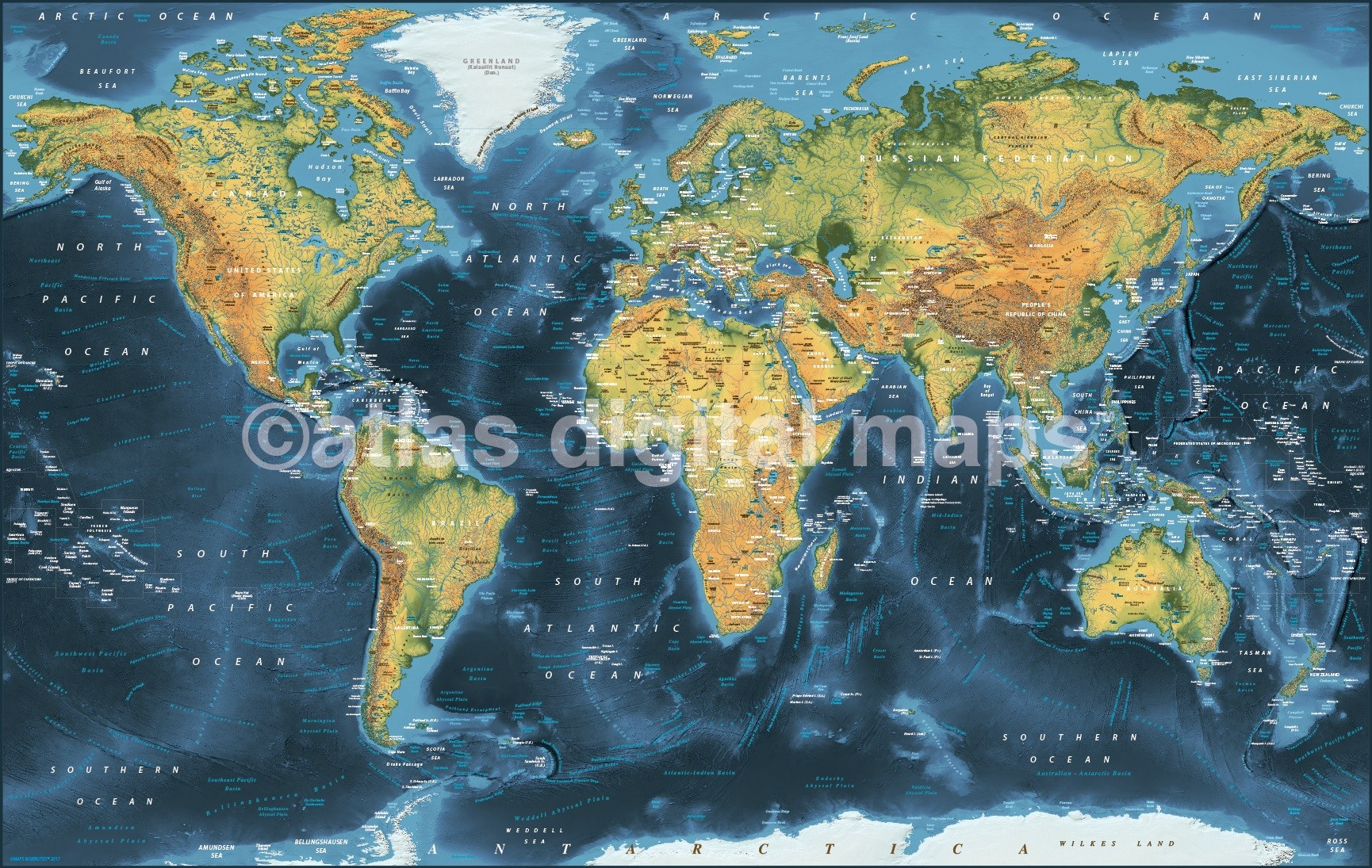 Dark style contemporary canvas world wall map 72 x 38 canvas world wall map dark style contemporary 60 inches wide x 38 inches deep gumiabroncs Choice Image