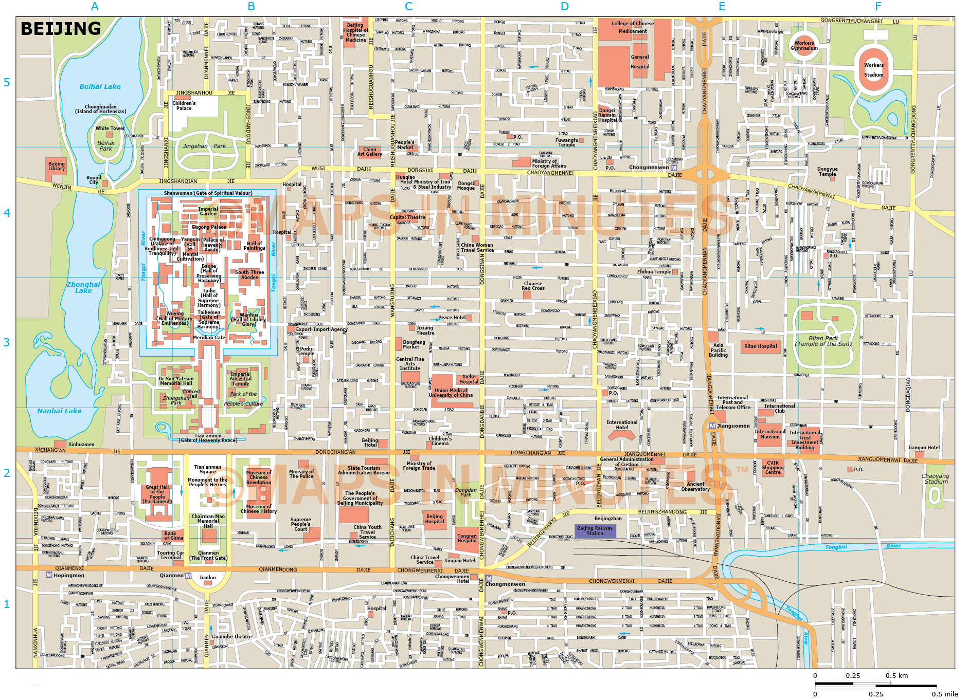 Beijing city map in illustrator cs or pdf format gumiabroncs Image collections