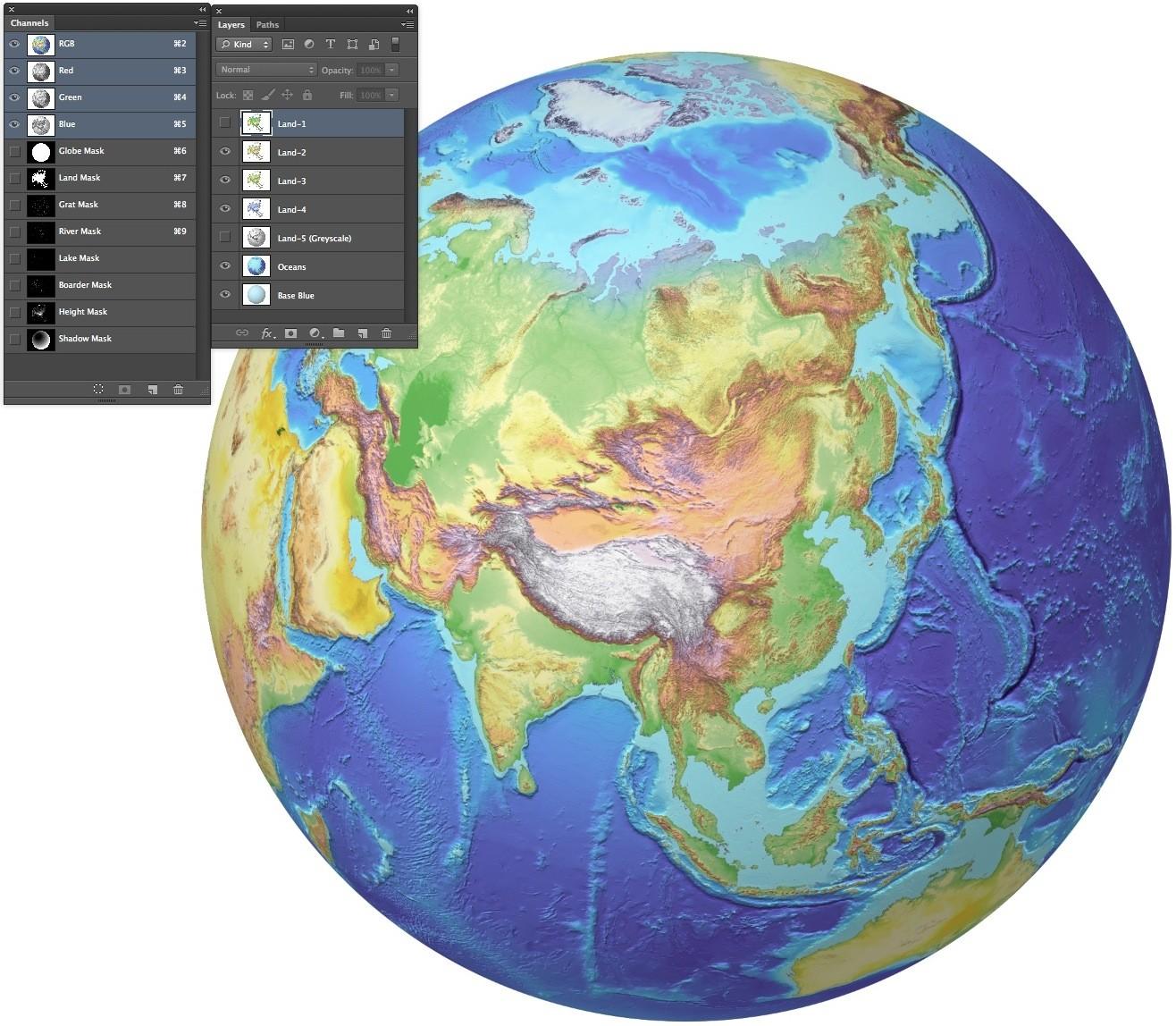 Globe 40n 100e 4 colour multi layered photoshop format with a set globe 40n 100e 4 colour multi layered photoshop format with a set gumiabroncs Choice Image