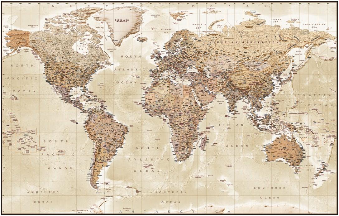World Atlas Map  Maps of the World