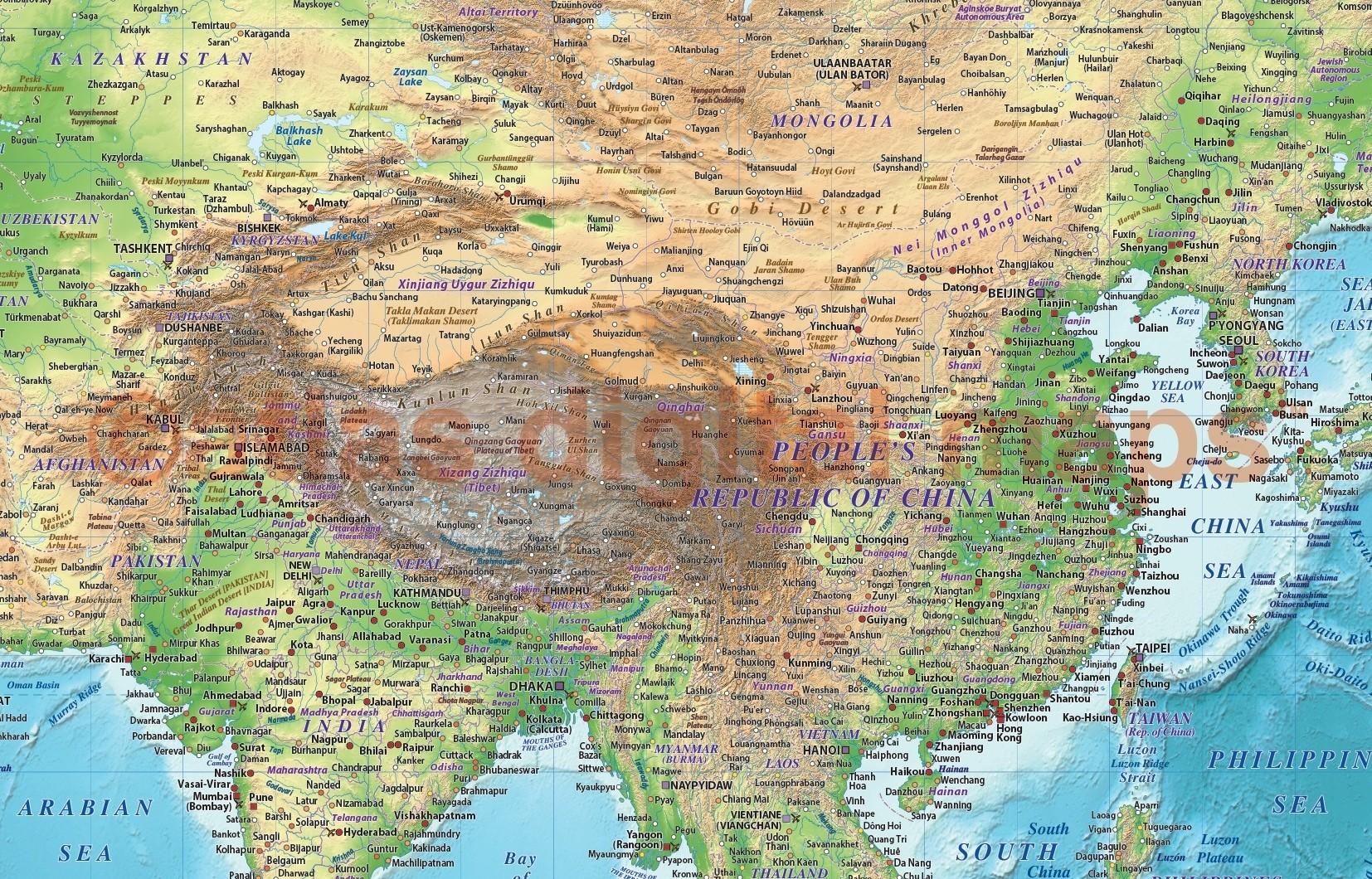 Regular style contemporary canvas world wall map 72 x 38 regular style contemporary canvas world wall map 60 inches wide x 38 inches deep up gumiabroncs Images