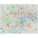 London Deluxe city map in Illustrator CS or PDF format