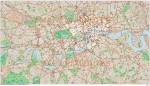 London Large Base map @10,000 scale in Illustrator CS format