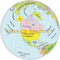 Globe 50N 100W