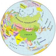 Globe 50N 100E