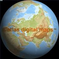 Light Relief Globe 50N 60E