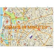 Dusseldorf city map in Illustrator CS or PDF format