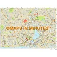 Hamburg city map in Illustrator CS or PDF format