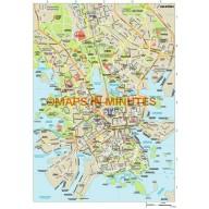 Helsinki city map in Illustrator CS or PDF format