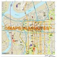Kansas City map in Illustrator CS or PDF format