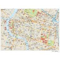 Bangkok city map in Illustrator CS or PDF vector format