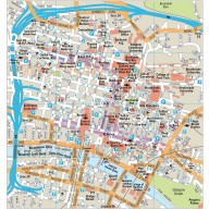 Glasgow city map in Illustrator CS or PDF format