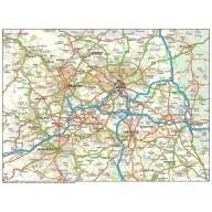 Greater Leeds map @250k scale in Illustrator CS format