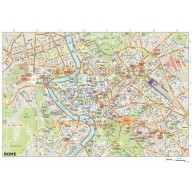Rome city map in Illustrator CS or PDF format