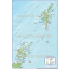 Northern Isles 1st level Political Road Map @1,000,000 scale plus Regular relief layer option