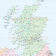 Vector British Isles UK map, Basic Country level @5,000,000 scale in Illustrator and PDF formats. Scotland detail.