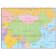 China Simple Country Map @10m scale