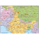 Vector India States Political Map showing all detail