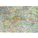 Detailed South East England Map, Illustrator AI vector, Road & Rail, large 500k scale, up-to-date 2018