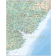 Uruguay digital vector map, political, road & rail plus land and sea contours.