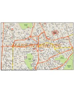 Maps in Minutes™ UK Custom Street maps at 1:10,000 scale