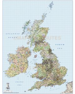 British Isles 750k scale Vector Deluxe Maps Collection