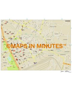 Nairobi city map in Illustrator CS or PDF format