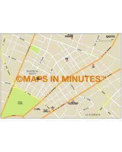 Quito city map in Illustrator CS or PDF format
