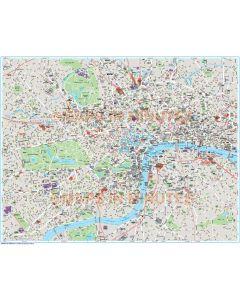 Deluxe London city map in Illustrator CS or PDF format