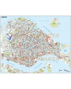 Venice city map in Illustrator CS or PDF format area
