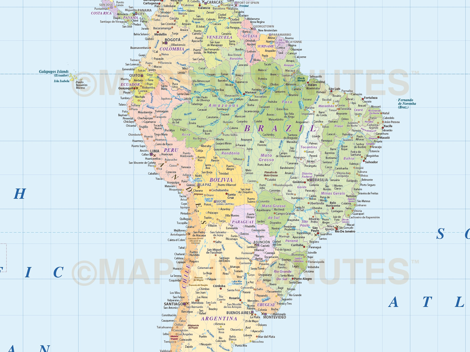 Whole world map gall projection with layered populations uk digital vector map gall projection world map political with population layered by size gumiabroncs Choice Image