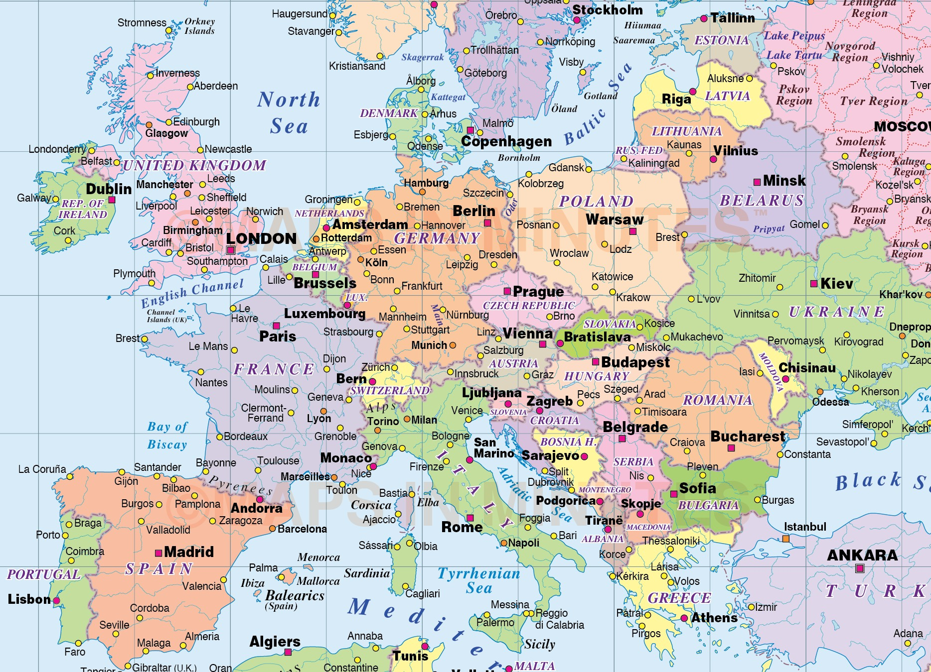 Map Of The Whole World Pictures to Pin on Pinterest PinsDaddy