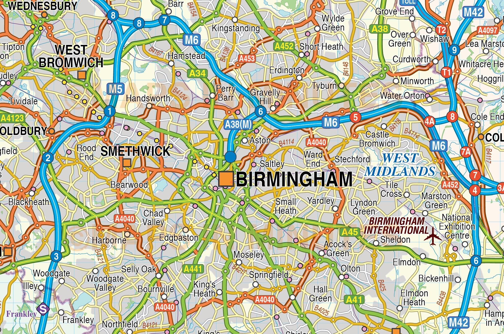 birmingham traffic report