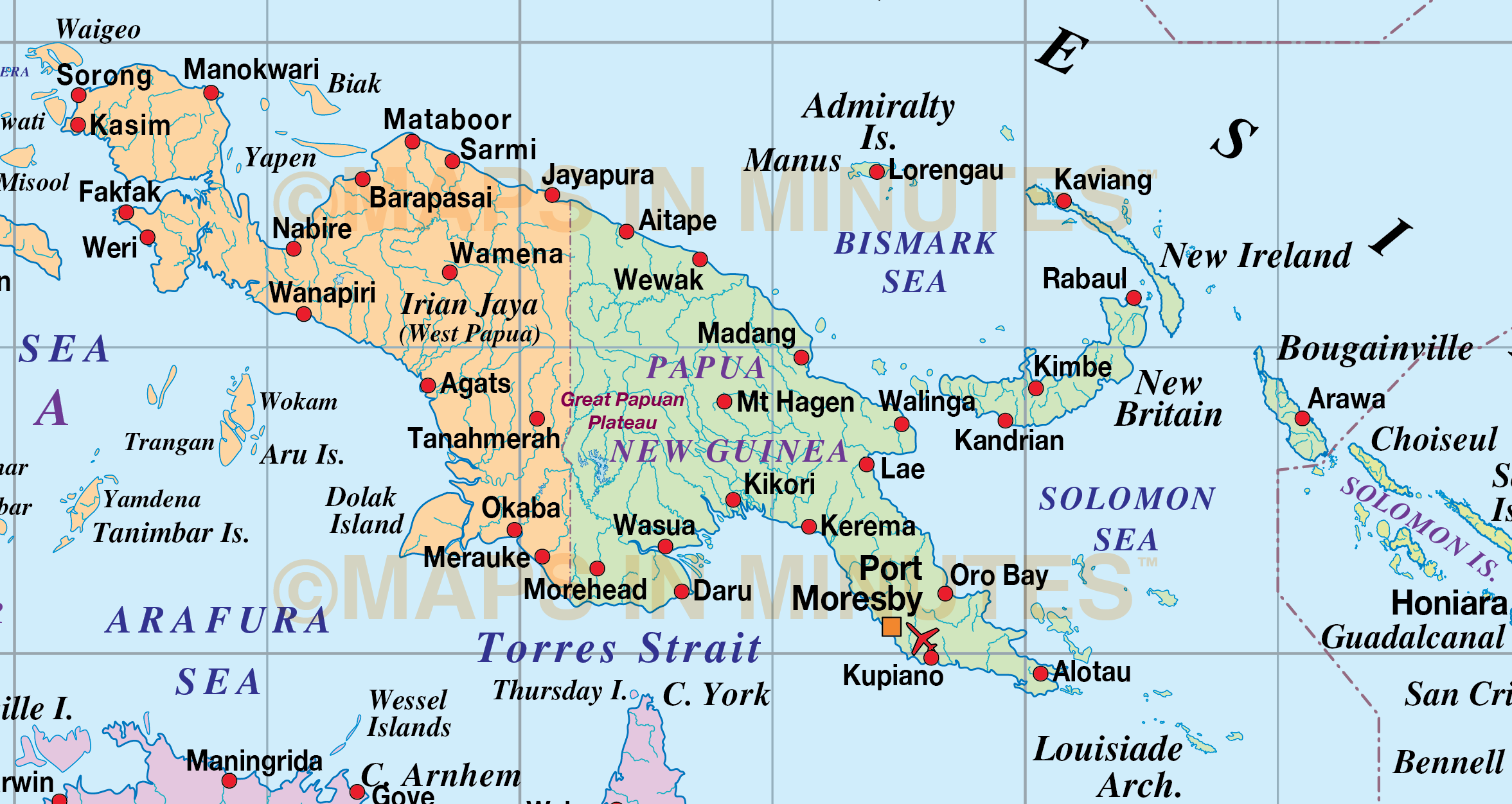 Vector Malaysia/Indonesia Political Map @10M scale in Illustrator and editable PDF formats