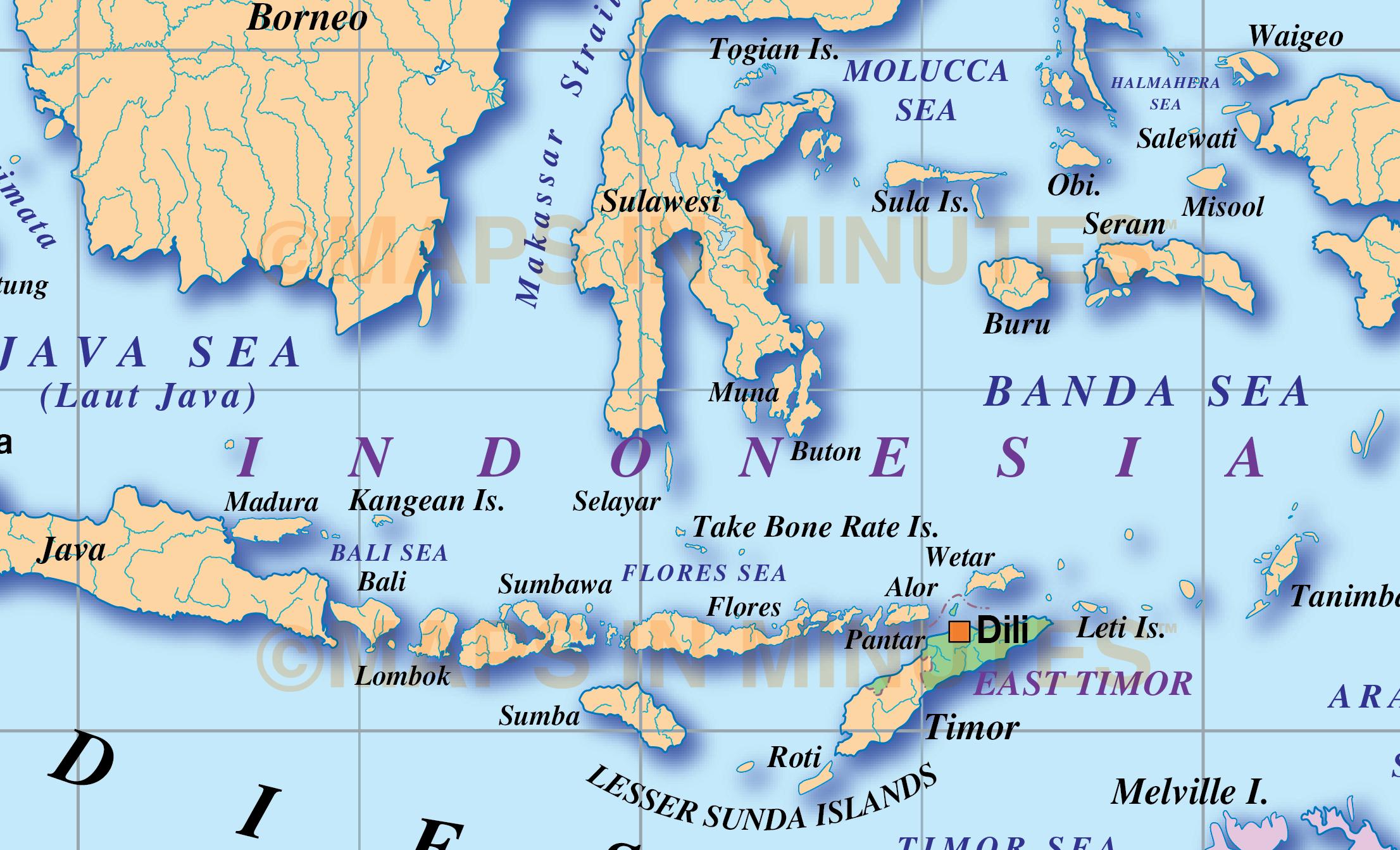 Vector Malaysia Indonesia Political Map Illustrator Ai Cs