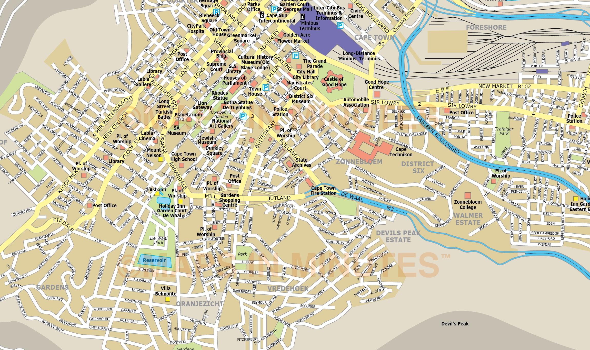 tallinn detailed city map pdf