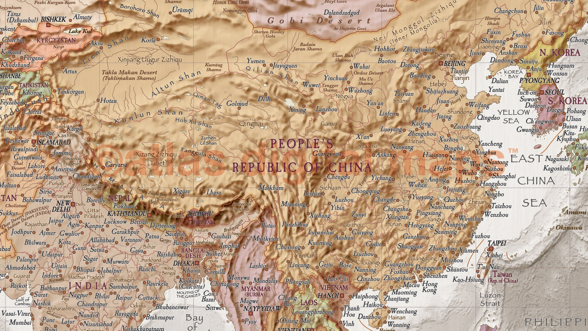 World wall map canvas 60 x 38 framed canvas antique style stone world map size 60w x 38d gumiabroncs Images