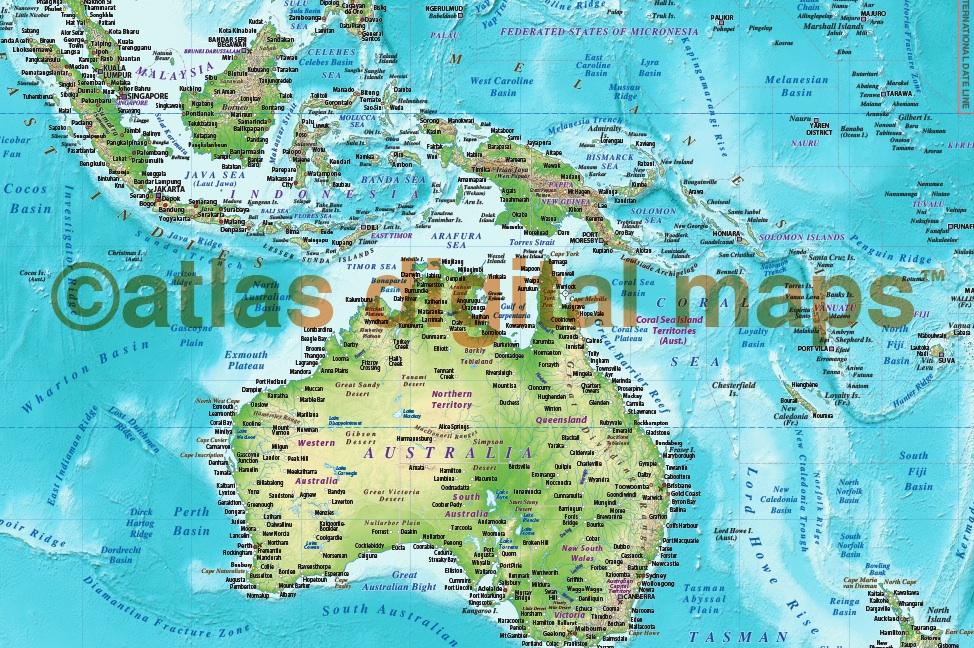 Pinnable World Map on
