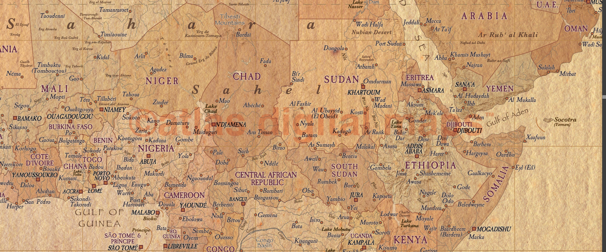 World wall map framed canvas tan antique style political relief 60 world wall map tan antique style framed canvas 60 inches wide x 38 inches deep gumiabroncs Choice Image