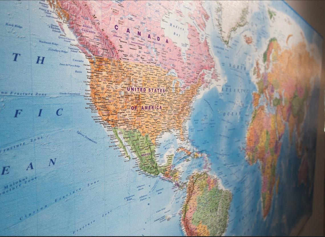 World maps