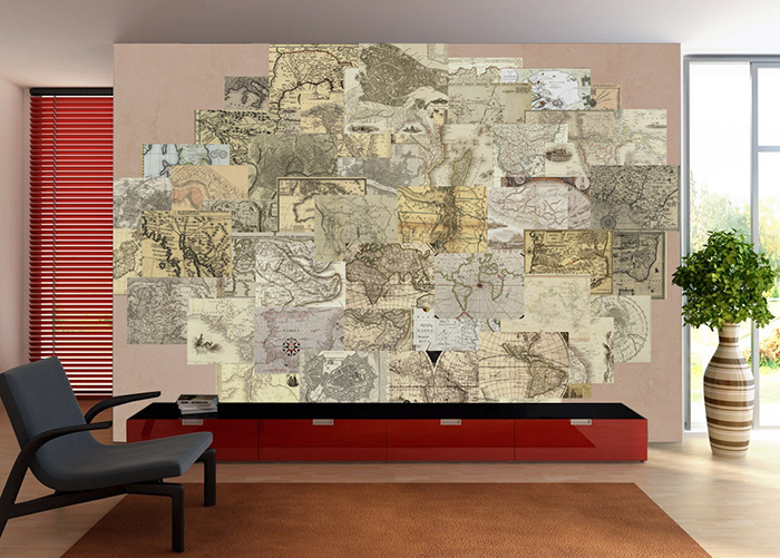 Antique Wall Collage set
